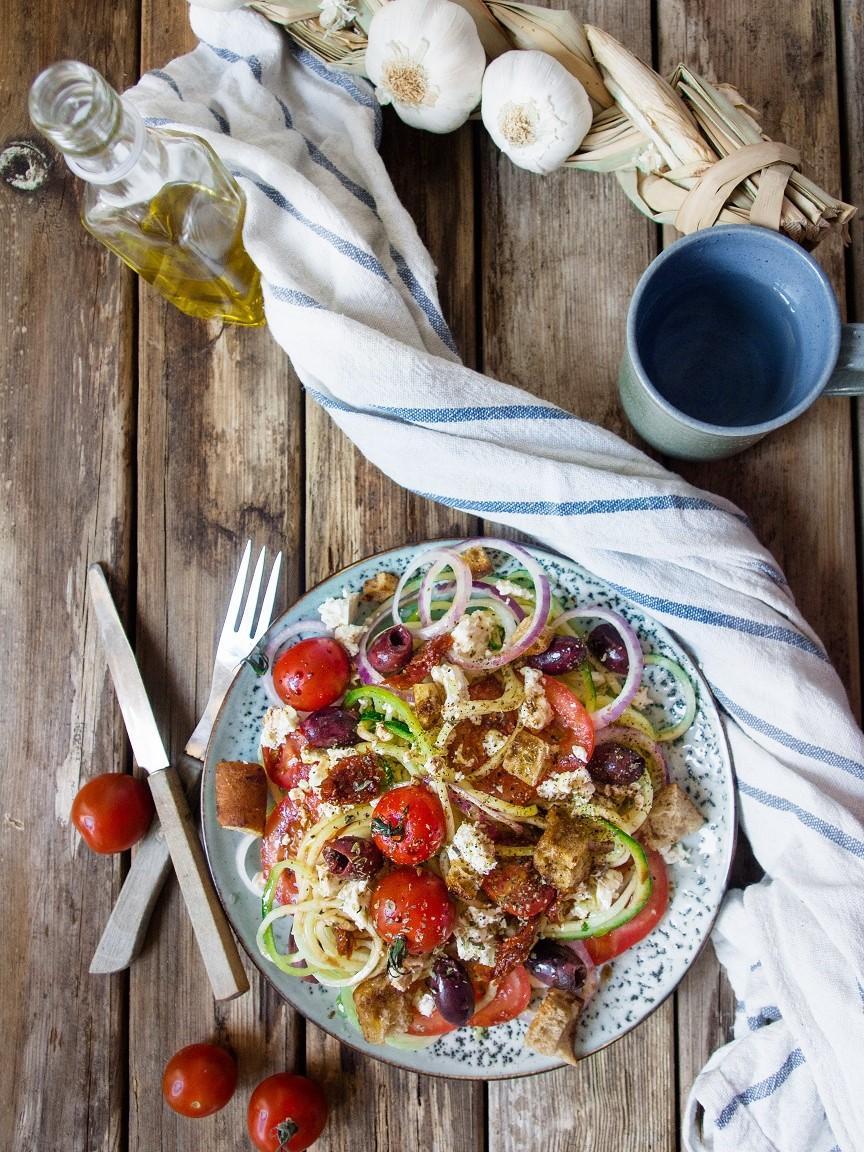 kesäkurpitsaspagetti