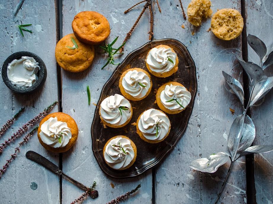 Polenta-cupcakes