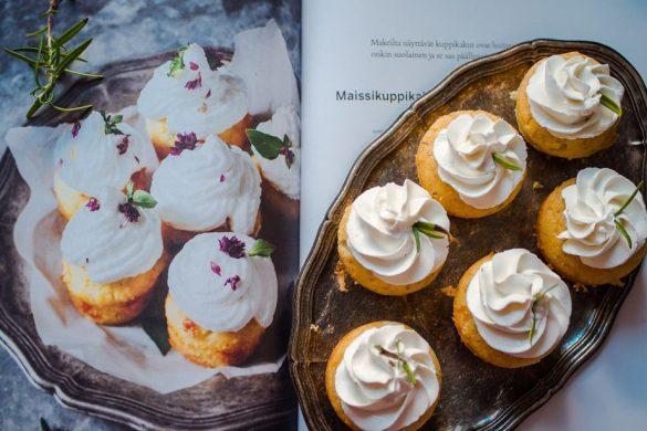 Suolaiset minipolenta-cupcakesit