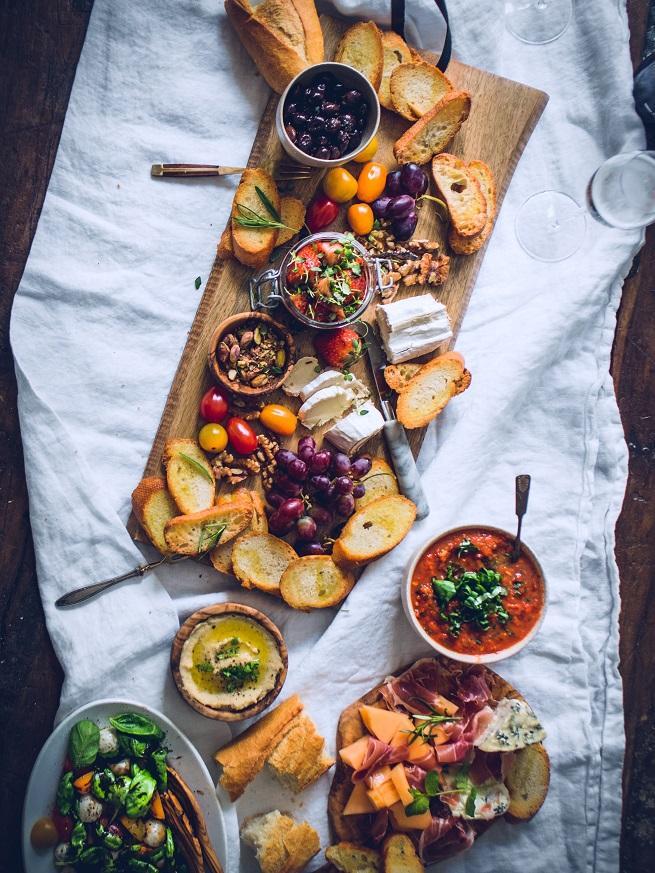 Italialainen antipastopöytä. Helpot ja nopeat reseptit.