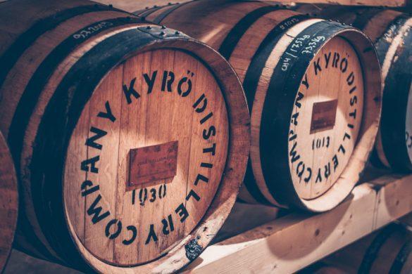 Kyrö Distillery vierailulla
