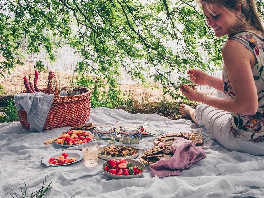 Kesäiset piknikeväät. Gluteeniton. Vegaani