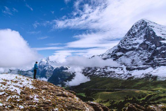 Ensilumi yllätti elokuisessa Sveitsissä