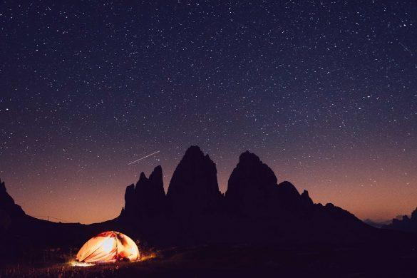 Telttailua ukkosmyrskyssä - Tre Cime di Lavaredo