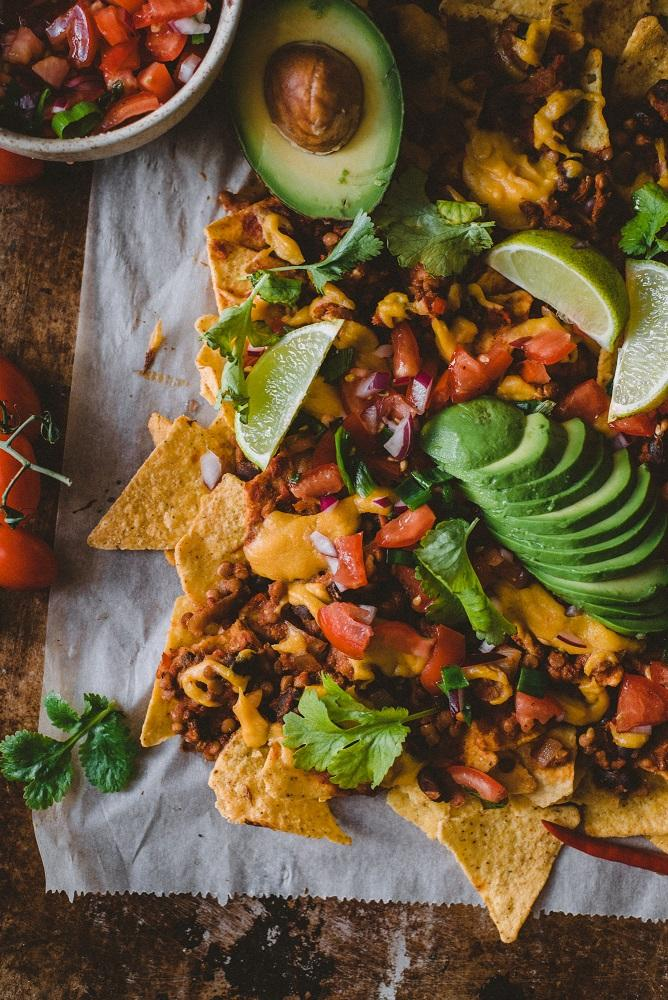 vegaaninen nachopelti
