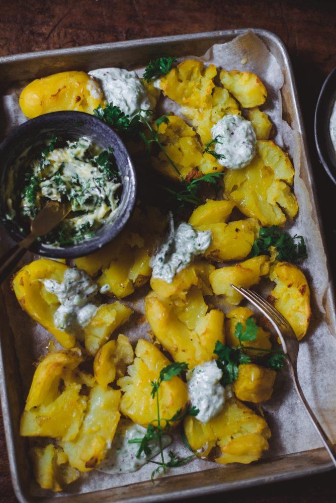Litistetyt perunat