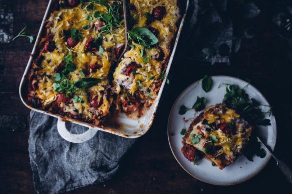 Vegaaninen lasagne