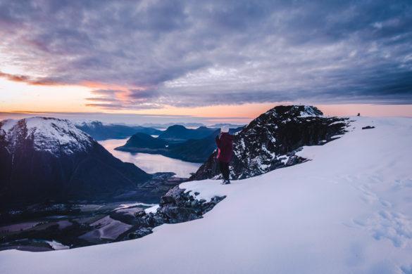 Romsdalsleggen – 1-2 päivän vaellusreitti Länsi-Norjassa