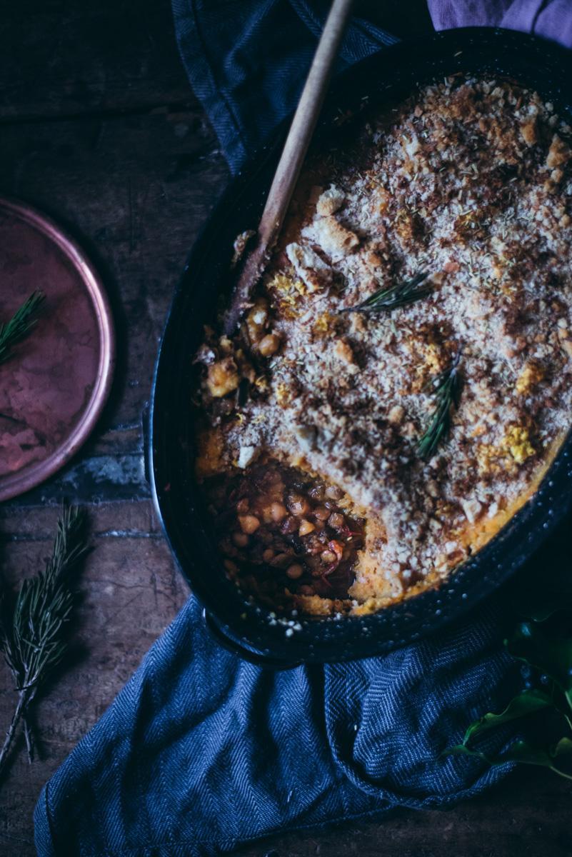Vegaaninen Shepherd's pie