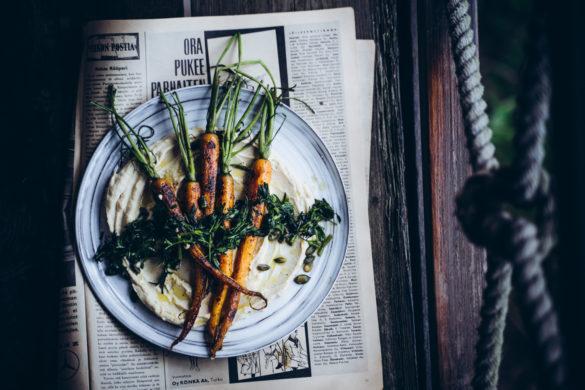 Ras el hanout porkkanat.
