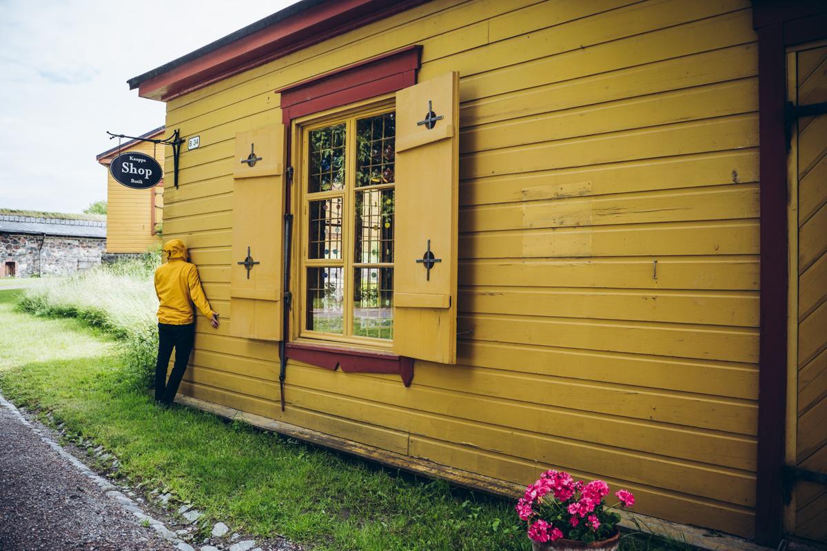 Taidekäsityöläisten myymälä. Suomenlinna