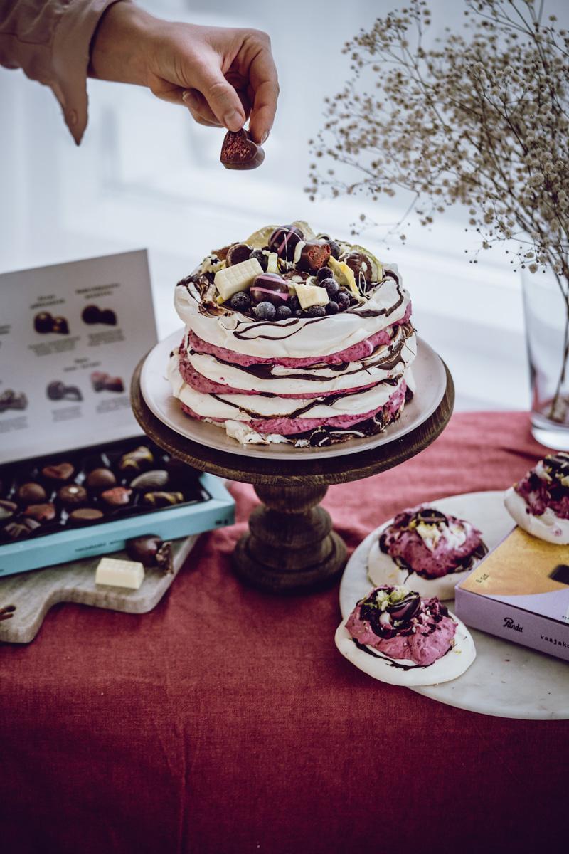 Pandan kakku- marenki-jäädykekakku