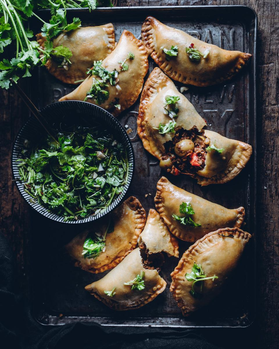 Empanadat. Vegaaninen