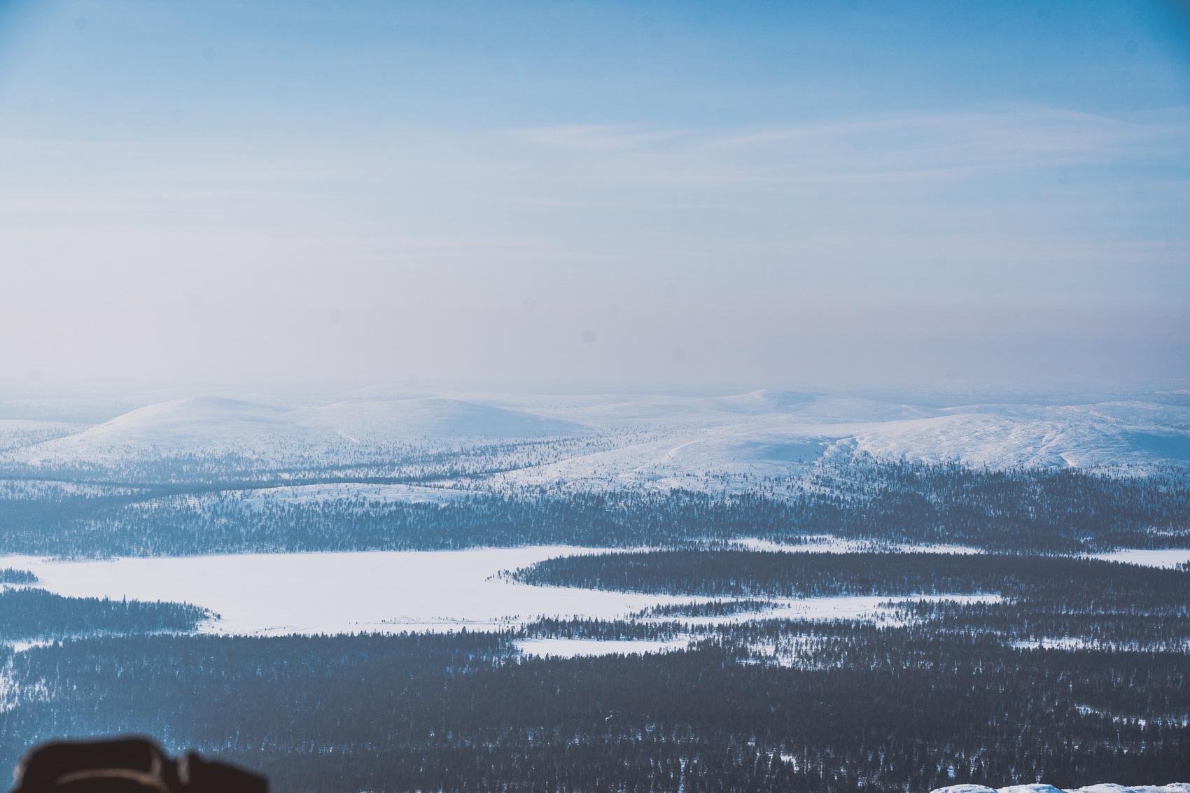 Hiihtovaellus. Luirojärvi. Sokosti