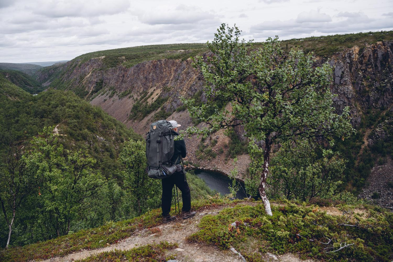 Kevon kanjonin vaellus
