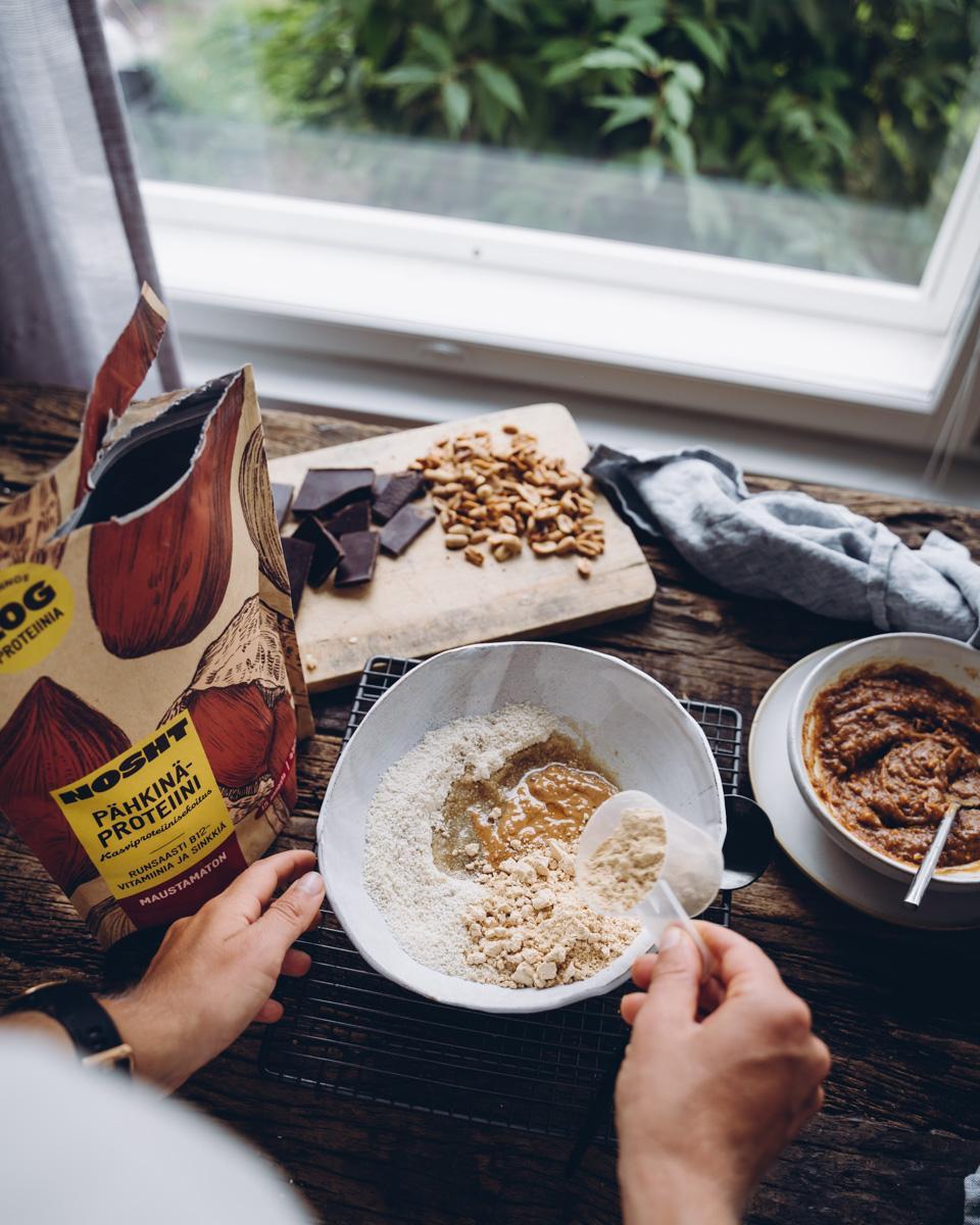 Pähkinäproteiinijauhe