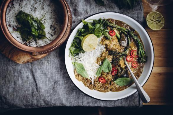 Keltainen thai-curry
